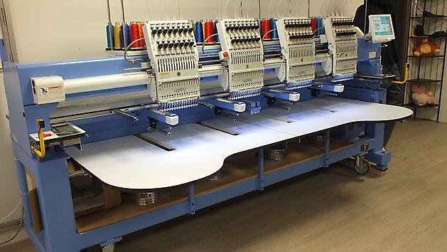 Over de kunst van machinaal borduren - Reclame en Borduurstudio An Zuidbroek