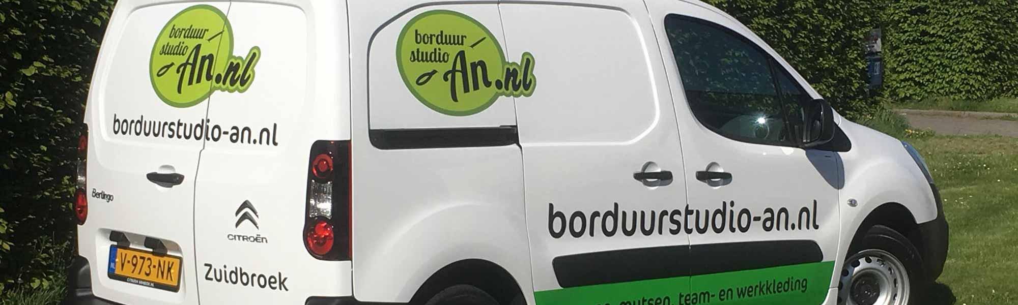 Snelle service - Reclame en Borduurstudio An Zuidbroek