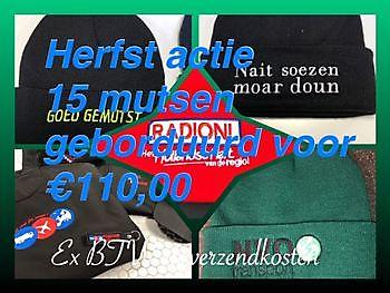 Wintermutsen laten borduren met naam of logo Reclame en Borduurstudio An Zuidbroek
