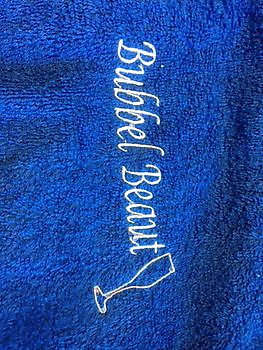Borduren van speciale items, handdoeken en patches Reclame en Borduurstudio An Zuidbroek