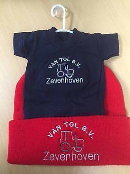 Geborduurde geschenken, afscheidskadootjes en kraamkadootjes Reclame en Borduurstudio An Zuidbroek