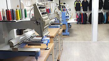 Over de kunst van machinaal borduren Reclame en Borduurstudio An Zuidbroek